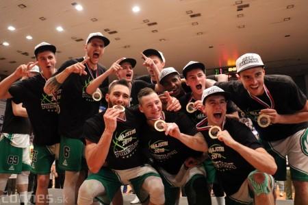 Foto: BC Prievidza novým majstrom SBL, získali sme šiesty titul 85