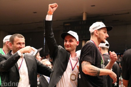 Foto: BC Prievidza novým majstrom SBL, získali sme šiesty titul 87