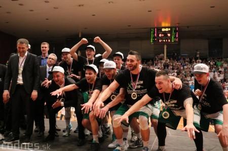 Foto: BC Prievidza novým majstrom SBL, získali sme šiesty titul 88