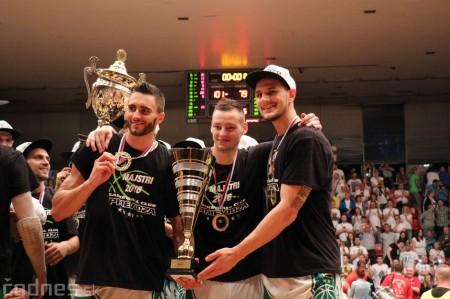Foto: BC Prievidza novým majstrom SBL, získali sme šiesty titul 92
