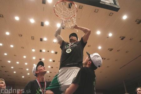 Foto: BC Prievidza novým majstrom SBL, získali sme šiesty titul 96