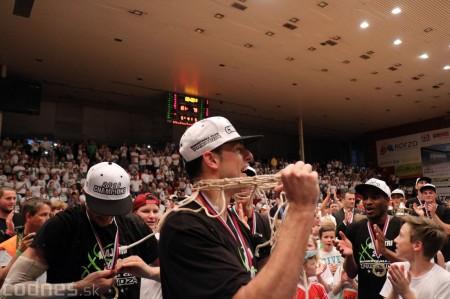 Foto: BC Prievidza novým majstrom SBL, získali sme šiesty titul 98