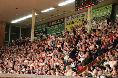 Foto: BC Prievidza - Inter Bratislava 84:68 0