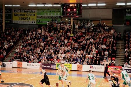 Foto: BC Prievidza - Inter Bratislava 84:68 7