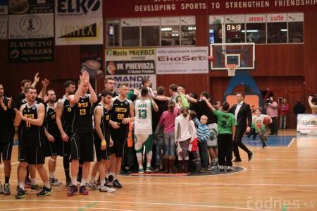 Foto: BC Prievidza - Inter Bratislava 84:68 87