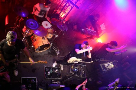 Foto: Lavagance - Halfway to the Grave Tour 2015 - Prievidza Piano 24