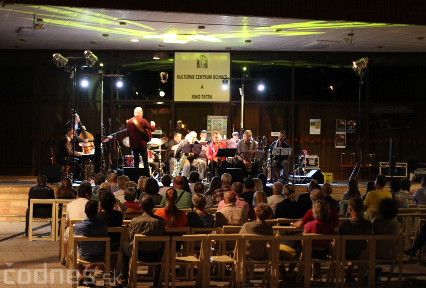 Foto a video: Matúš Jakabčic CZ-SK Big Band - Hudba na korze 2014