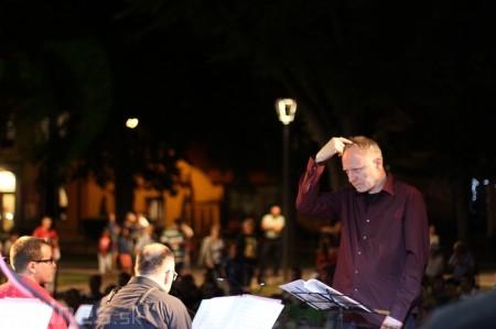 Foto a video: Matúš Jakabčic CZ-SK Big Band - Hudba na korze 2014 17