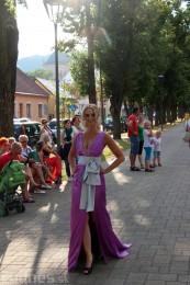 Módna prehliadka - Milada Sabolová - archanjel Bojnice 2014 7