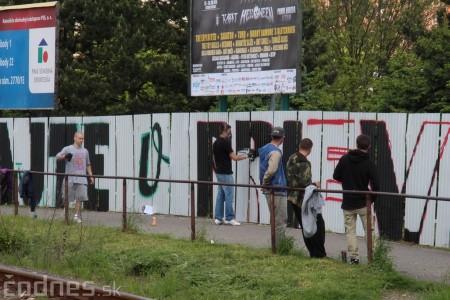 Foto: Vitajte v Prievidzi - sprejeri skrášlili plot 3