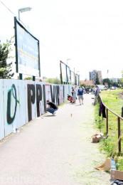 Foto: Vitajte v Prievidzi - sprejeri skrášlili plot 13