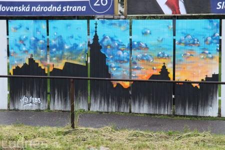Foto: Vitajte v Prievidzi - sprejeri skrášlili plot 20