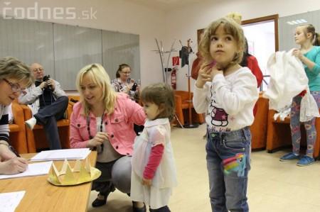 Princezny na hrášku Prievidza - pokus o rekord 8