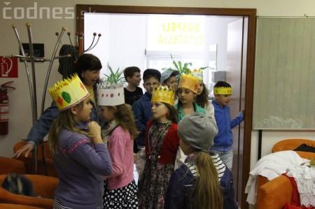 Princezny na hrášku Prievidza - pokus o rekord 14