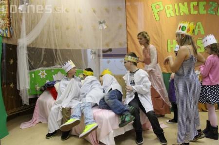 Princezny na hrášku Prievidza - pokus o rekord 22