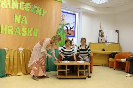 Princezny na hrášku Prievidza - pokus o rekord 25