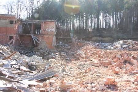 Foto a video: Búranie kryté bazény Čajka Bojnice 16