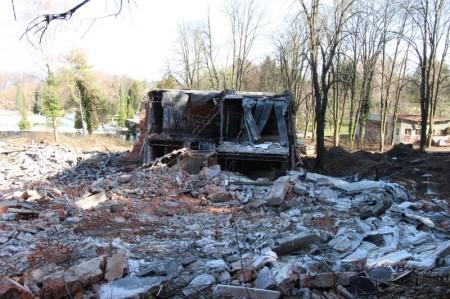 Foto a video: Búranie kryté bazény Čajka Bojnice 40