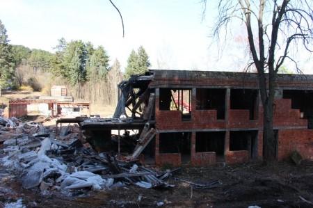 Foto a video: Búranie kryté bazény Čajka Bojnice 44