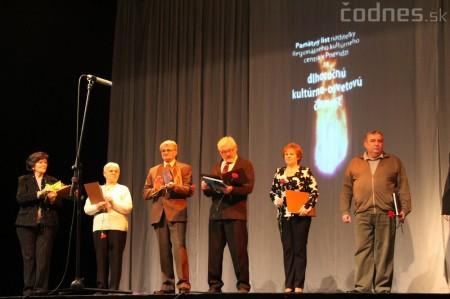 Kultúra 2013 - Slávnostný večer s vyhodnotením najúspešnejších a jubilujúcich kolektívov a jednotlivcov v kultúre 11