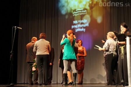 Kultúra 2013 - Slávnostný večer s vyhodnotením najúspešnejších a jubilujúcich kolektívov a jednotlivcov v kultúre 48