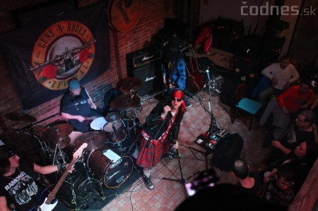 GUNS N' ROSES tribute band - Piano club Prievidza 1