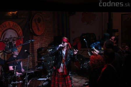 GUNS N' ROSES tribute band - Piano club Prievidza 11