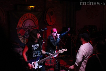 GUNS N' ROSES tribute band - Piano club Prievidza 13