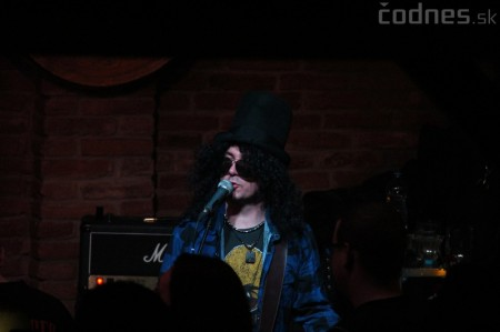 GUNS N' ROSES tribute band - Piano club Prievidza 16