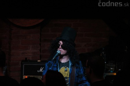 GUNS N' ROSES tribute band - Piano club Prievidza 17