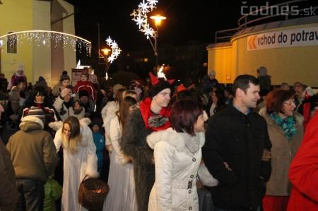 Foto a video: Mikuláš a rozsvietenie vianočného stromčeka 9