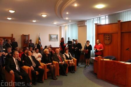 Foto a video: Slávnostne ocenie Róberta Bezáka - čestný občan mesta Prievidza 1