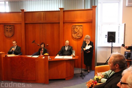 Foto a video: Slávnostne ocenie Róberta Bezáka - čestný občan mesta Prievidza 15