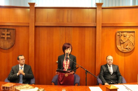 Foto a video: Slávnostne ocenie Róberta Bezáka - čestný občan mesta Prievidza 19