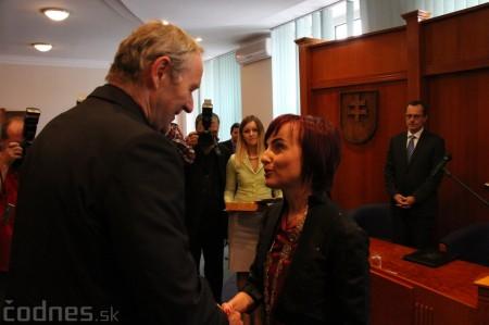 Foto a video: Slávnostne ocenie Róberta Bezáka - čestný občan mesta Prievidza 24