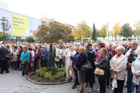 Foto a video: Slávnostne ocenie Róberta Bezáka - čestný občan mesta Prievidza 48