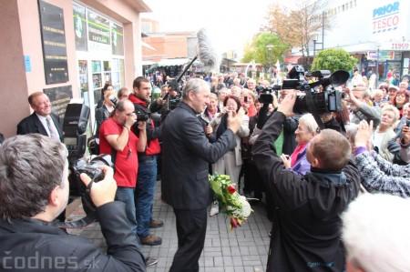 Foto a video: Slávnostne ocenie Róberta Bezáka - čestný občan mesta Prievidza 55