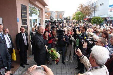 Foto a video: Slávnostne ocenie Róberta Bezáka - čestný občan mesta Prievidza 56
