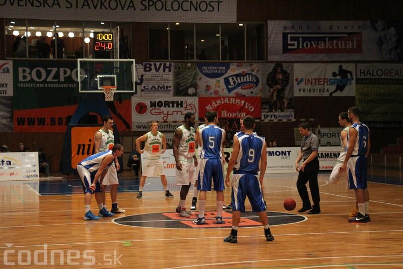 Foto a video: BC Prievidza - BK 04 AC LB Spišská Nová Ves 83:56