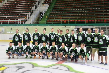 Foto a video: Exibičný hokejový zápas MšHK Bulldogs Prievidza a hviezdy NHL a Slovenska 3