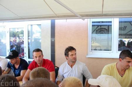 Foto a video: Exibičný hokejový zápas MšHK Bulldogs Prievidza a hviezdy NHL a Slovenska 15