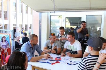 Foto a video: Exibičný hokejový zápas MšHK Bulldogs Prievidza a hviezdy NHL a Slovenska 19