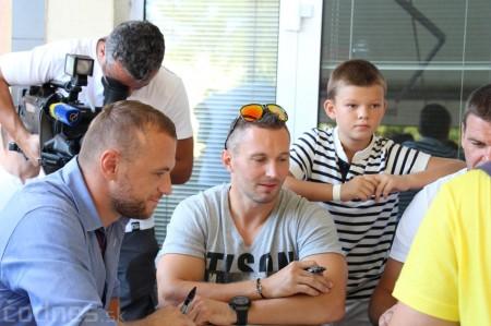 Foto a video: Exibičný hokejový zápas MšHK Bulldogs Prievidza a hviezdy NHL a Slovenska 25