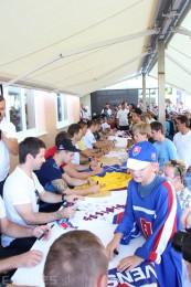 Foto a video: Exibičný hokejový zápas MšHK Bulldogs Prievidza a hviezdy NHL a Slovenska 26