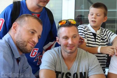 Foto a video: Exibičný hokejový zápas MšHK Bulldogs Prievidza a hviezdy NHL a Slovenska 31