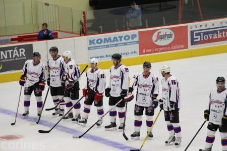 Foto a video: Exibičný hokejový zápas MšHK Bulldogs Prievidza a hviezdy NHL a Slovenska 49