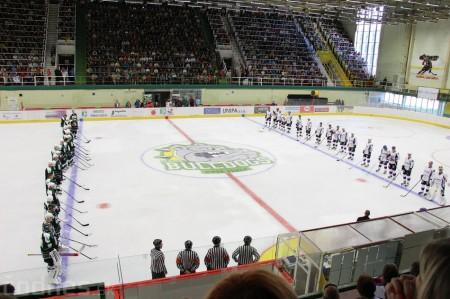 Foto a video: Exibičný hokejový zápas MšHK Bulldogs Prievidza a hviezdy NHL a Slovenska 50