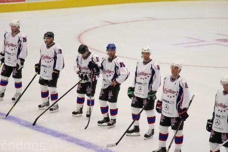 Foto a video: Exibičný hokejový zápas MšHK Bulldogs Prievidza a hviezdy NHL a Slovenska 51