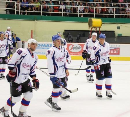 Foto a video: Exibičný hokejový zápas MšHK Bulldogs Prievidza a hviezdy NHL a Slovenska 70
