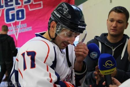 Foto a video: Exibičný hokejový zápas MšHK Bulldogs Prievidza a hviezdy NHL a Slovenska 72